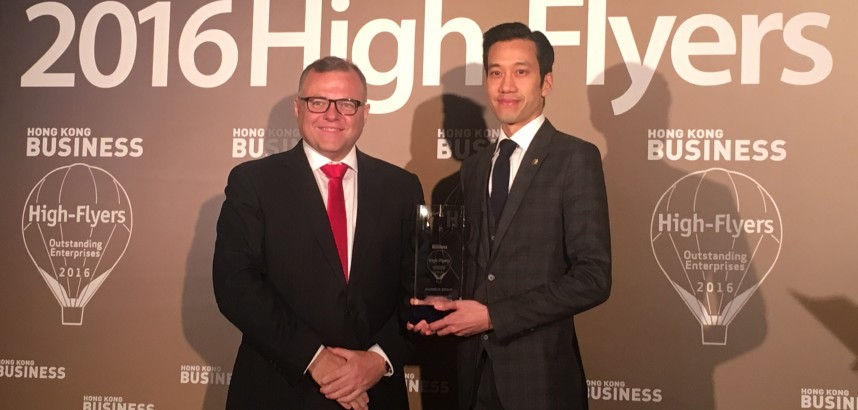 Hong Kong Business High-Flyers Awards 2016